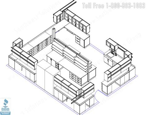 laboratory floor plan microbiology laboratory 3d view floor plan 48052 micro 4