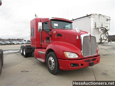 used 2009 kenworth t660 tandem axle sleeper for sale in pa