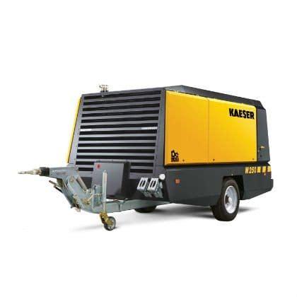 kaeser m250 mobilair compressor lano equipment inc