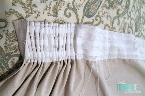 pleating tape for curtains diy easy pleated curtains from sloppy to structured