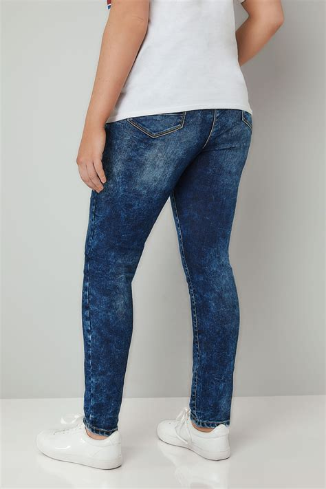 Leg 200 Medium Size Ekman Grab Sler Bottom Grab Sler limited collection blue acid wash plus size 16 to 32