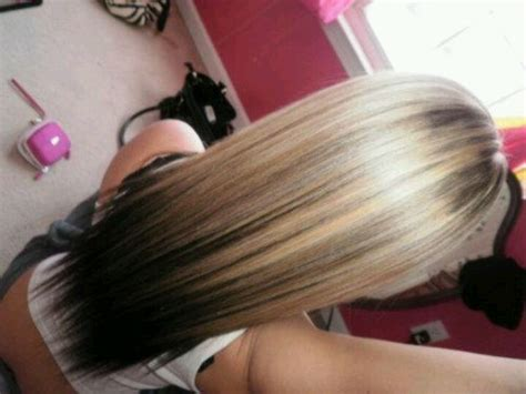 hair color blonde on top dark at ends long hair pin by martha kennedy on hair pinterest