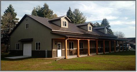Paint Colors For House by Pole Barns In Sheboygan Wi Area Steel Building