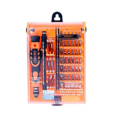 Jakemy 52 In 1 High Grade Screwdriver Set Jm 8150 jakemy 52 in 1 professional screwdriver set multi tool kit for repair for phones pc
