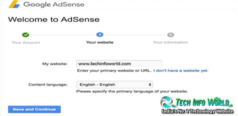 adsense my account how to create google adsense account for website