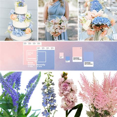what color flowers for new year pantone color of the year 2016 quartz serenity