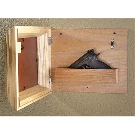 Wooden Wall Shelf Plans by Guide Gear 174 Hide A Gun Picture Frame 207535 Gun