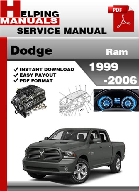 how to download repair manuals 1994 dodge ram wagon b150 instrument cluster dodge ram 1999 2006 service repair manual download download manua