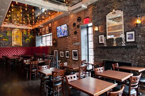 newspaper themed bar industrial themed bars liven up the nyc drink scene ny
