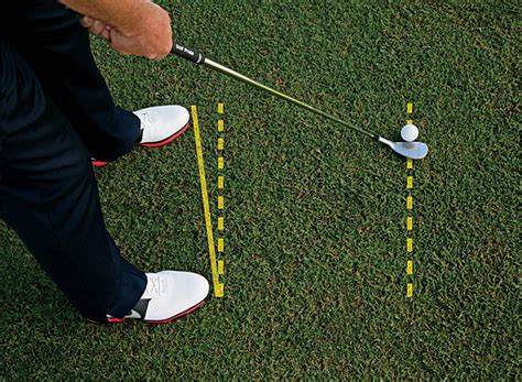 open stance golf swing soft pitch setup clarence von aspern
