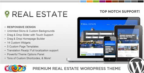 themeforest real estate wp pro real estate 4 responsive wordpress theme by