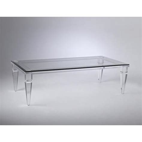 Acrylic Clear Coffee Table Lucite Clear Coffee Table