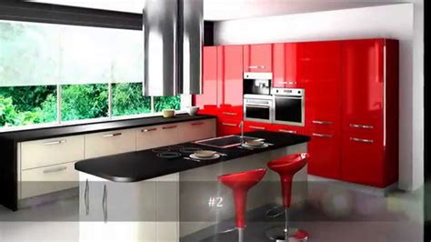 kitchen layout youtube top 10 red kitchen design youtube