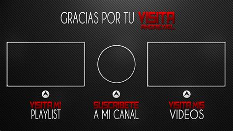 free outro template by andrexiel on deviantart
