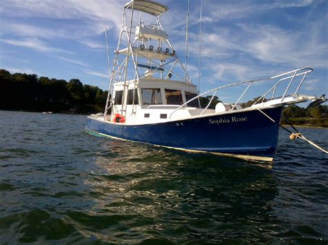 fishing boats for sale holland 32ft holland downeast tuna boat 49k the hull truth