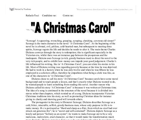 Charles Dickens Essays by A Carol Essays An Essay On A Carol I Will Discuss How Dickens Uses Resume