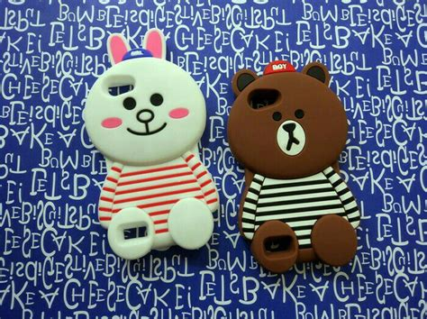 3d Silicon Line Brown Cony Striped Cowboy Galaxy V Ace 4 jual beli oppo neo 7 soft 3d 4d karakter