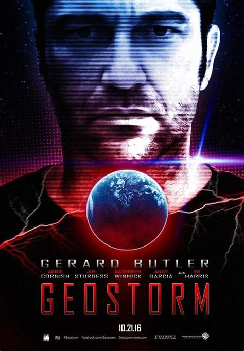 film terbaru geostorm geostorm 2017 poster 1 trailer addict