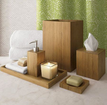 Bathroom Decorating Ideas Bamboo Bathroom Accessories Spa Like Bathroom Accessories