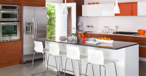 Kitchen Island Decorating by Barras De Cocina De Dise 241 O Moderno 50 Ideas