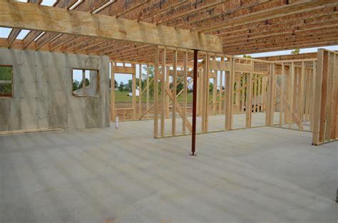 basement floor joists basement framing and floor joist work continues davidson