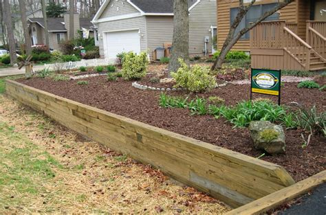 6x6 pressure treated retaining wall bing images