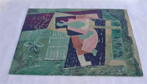 picasso area rug pablo picasso after quot sleeping with a bird quot rug by ege axminster for sale at 1stdibs