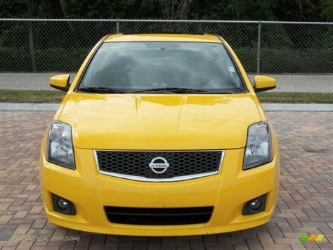 nissan sentra yellow 2007 nissan sentra se r spec v in solar yellow 725827