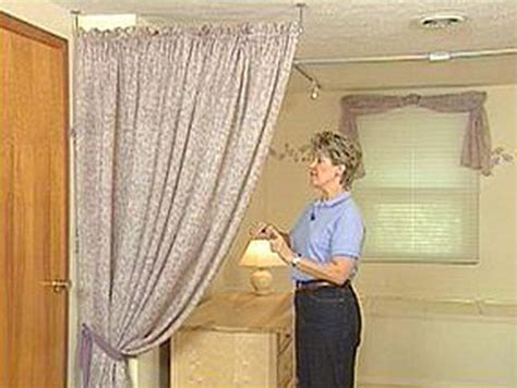 Vertical Tension Rod Room Divider Cool Curtains Tension Rod Room Divider Tension Rod Curtain T How To Install Curtain Rod