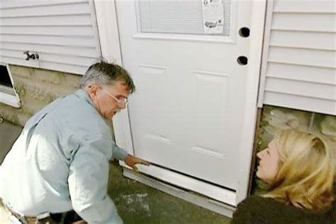 installing  prehung exterior door diy exterior