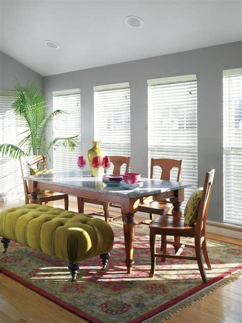 sherwin williams gray matters sw 7066 paint colors for dining rooms ottomans