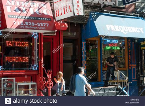 tattoo shops manhattan dougal stock photos dougal stock images alamy