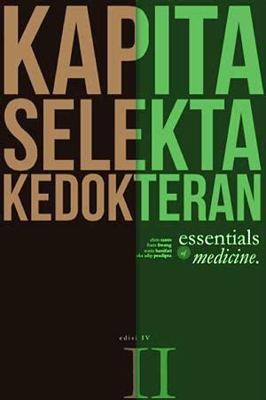 Kapita Selekta Praktik Klinik Ed 3 jual buku paket kapita selekta kedokteran jl i ii ed iv