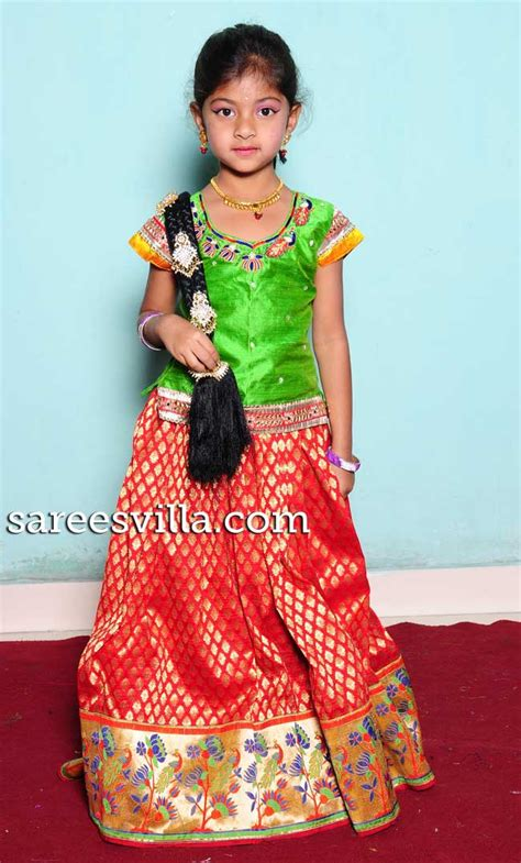 17 best images about indian ethnic clothes online on kids south indian traditional wear pavada ethnic wear