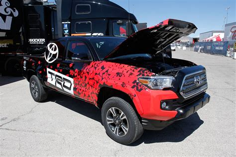 Toyota Tacoma Special Edition K N And Nhra Extend Title Sponsorship Of K N Horsepower