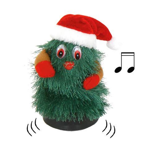 singender und tanzender weihnachtsbaum singender und
