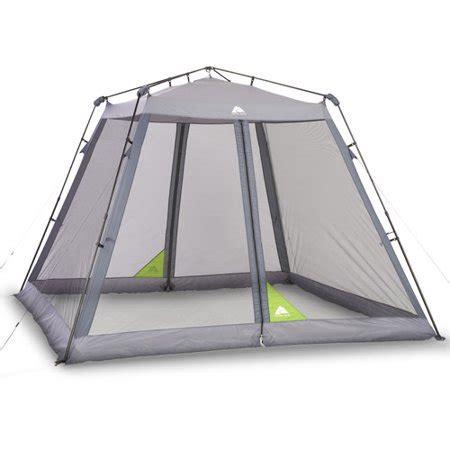 10 x 10 screen tent with floor ozark trail 10 x 10 instant screen house walmart
