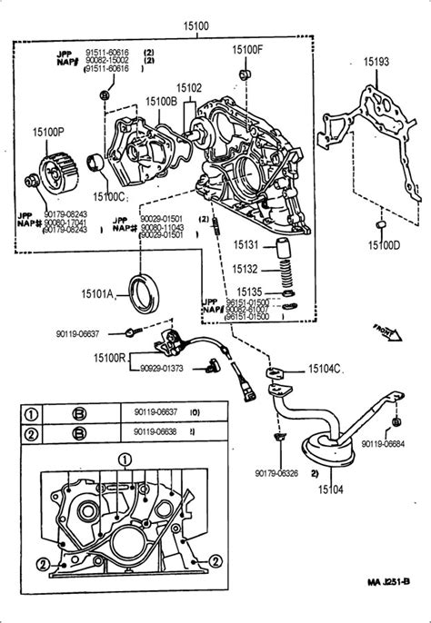 Toyota Camry 1994 Parts 1994 Toyota Camry Engine