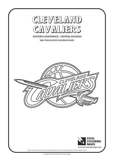 coloring pages for nba cool coloring pages nba teams logos cleveland