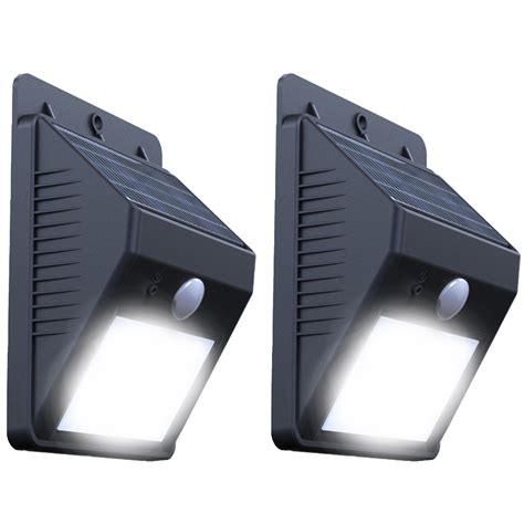 Solar Motion L Wall Mounted Ray Pir Motion Sensor Motion Activated Solar Light