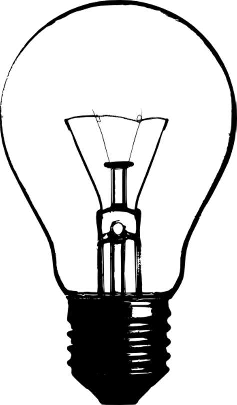Light Bulb Outline Clip by Lightbulb Clip At Clker Vector Clip