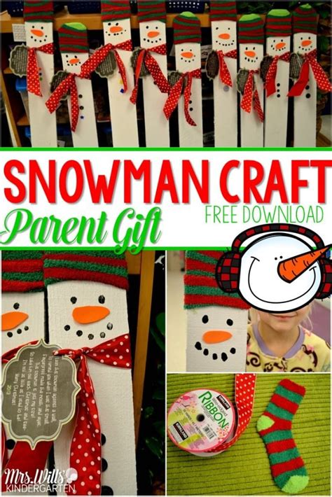 preschool parent christmas gifts kindergarten gifts