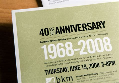 Wedding Announcement At Work by 40th Anniversary Invites 40th Anniversary Invitations