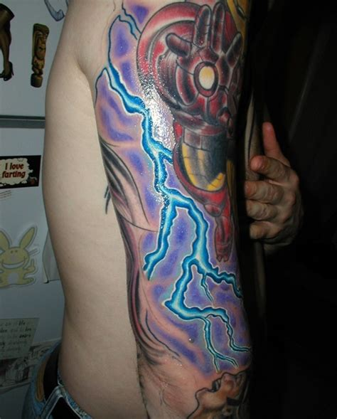 lighting tattoo 35 ultimate lightning designs
