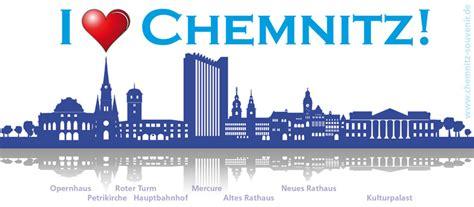 Aufkleber Chemnitz by Sticker I Love Chemnitz Silhouette