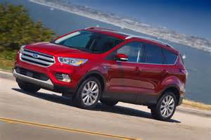 Ford Escapes 2017 Ford Escape Drive Review Motor Trend