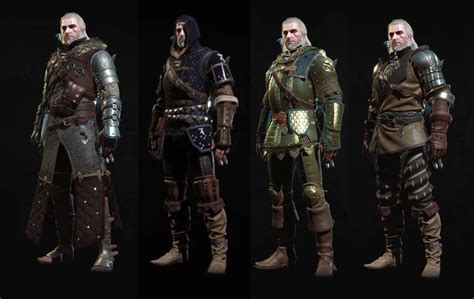 all gear new blood and wine armor sets witcher 3