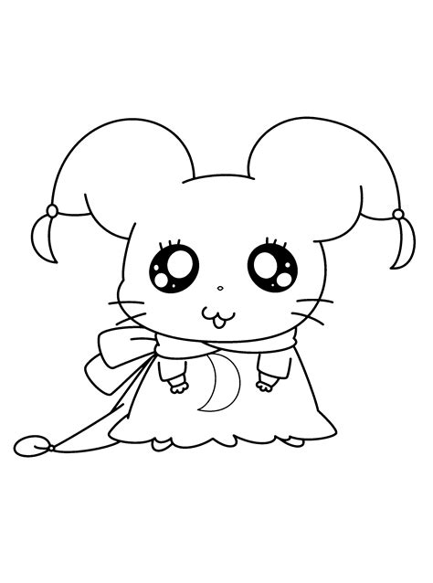 coloring page hamtaro coloring pages 17