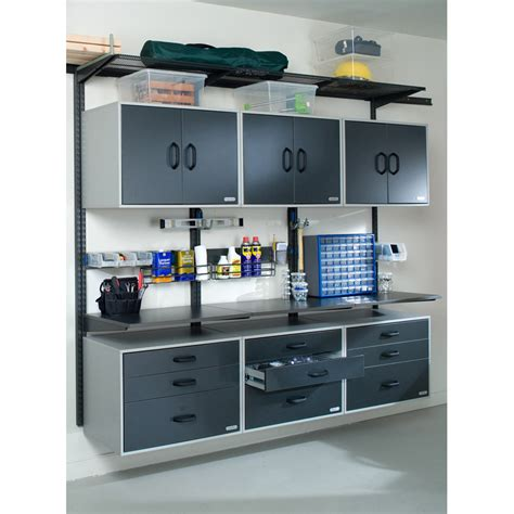 garage organizer systems garage systems freedomrail organized living solutions