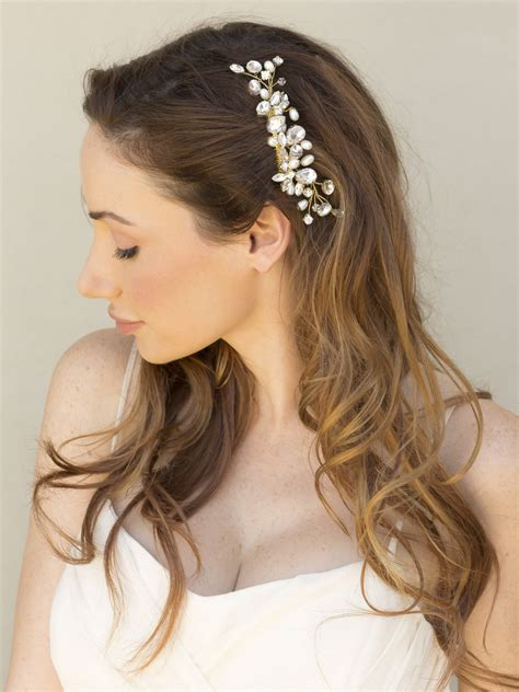 Wedding Hair Clip Accessories by Bridal Wedding Hair Accessories And Headpieces By Hair